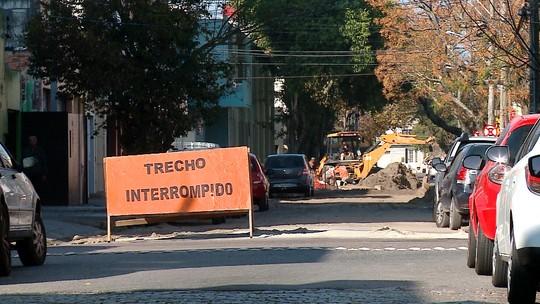 Como estão as obras em ruas do centro de Rio Grande