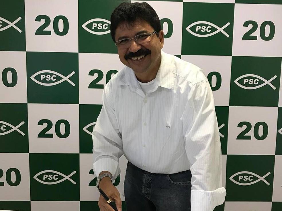 Deputado estadual Antonio Fernando (PSC-PE) — Foto: Reprodução/Facebook