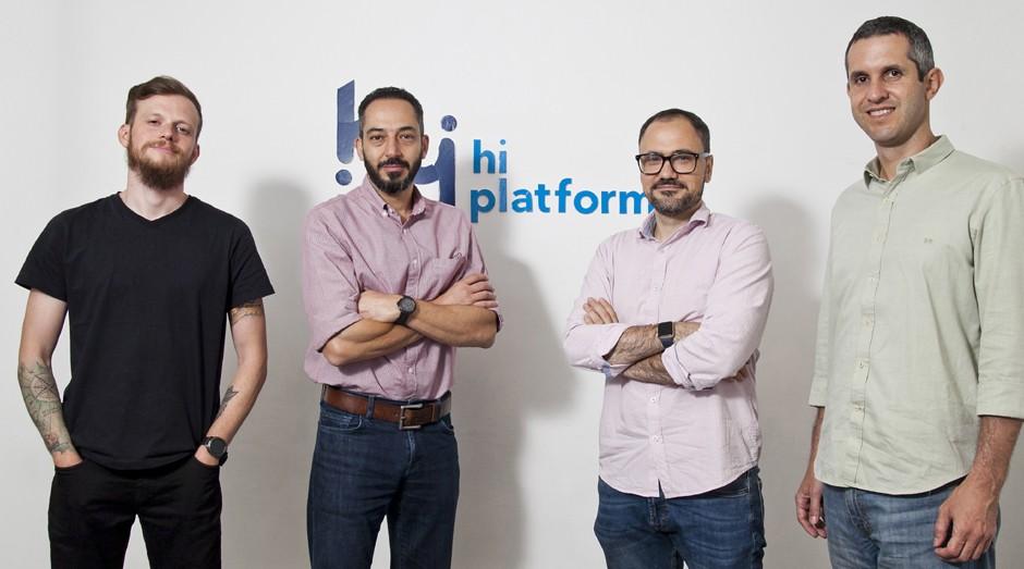 Da esquerda para a direita, Mauricio Brentano, Marcelo Pugliesi, Ricardo Heidorn e Alexandre Bernardoni, sócios da Hi Platform (Foto: Divulgação)