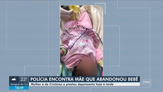 Suspeita de abandonar bebê em caixa de papelão em Florianópolis é mãe da criança, diz polícia