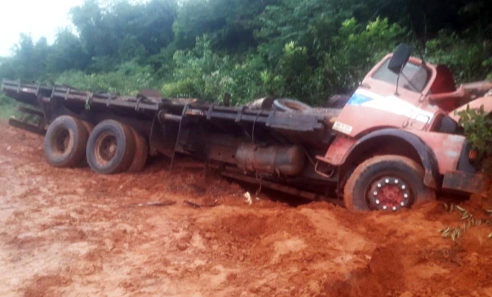 Motorista morreu em acidente em Cláudia — Foto: Divulgação