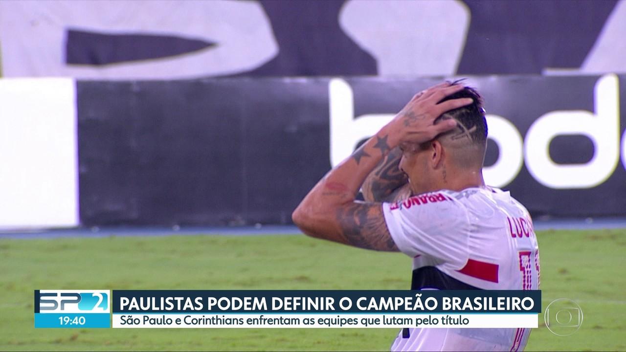 Times paulistas podem definir o campeão brasileiro
