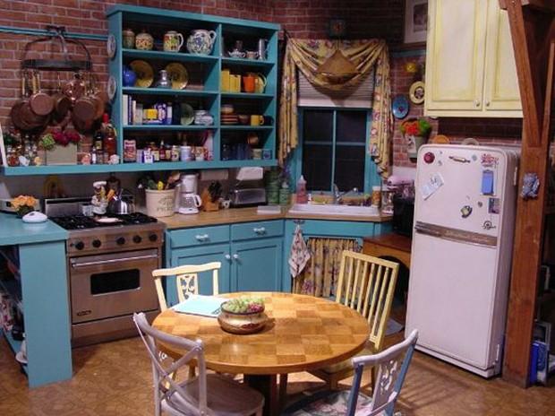 Cozinhas de filmes/séries: Friends (Foto: Pinterest/Reprodução)