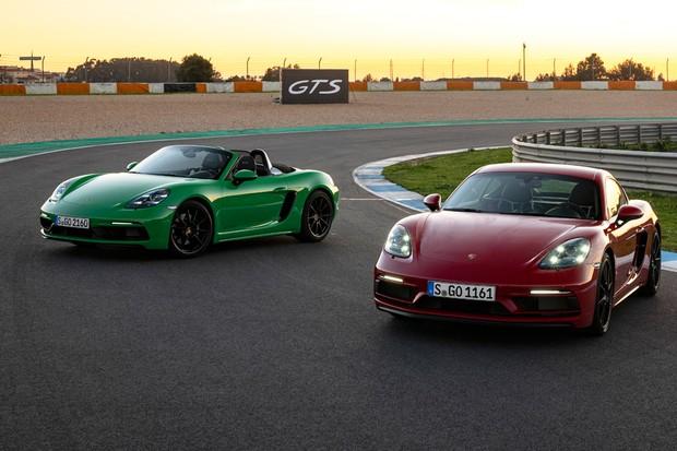 Porsche 718 GTS tem versões Cayman e Boxster (Foto: Divulgação)
