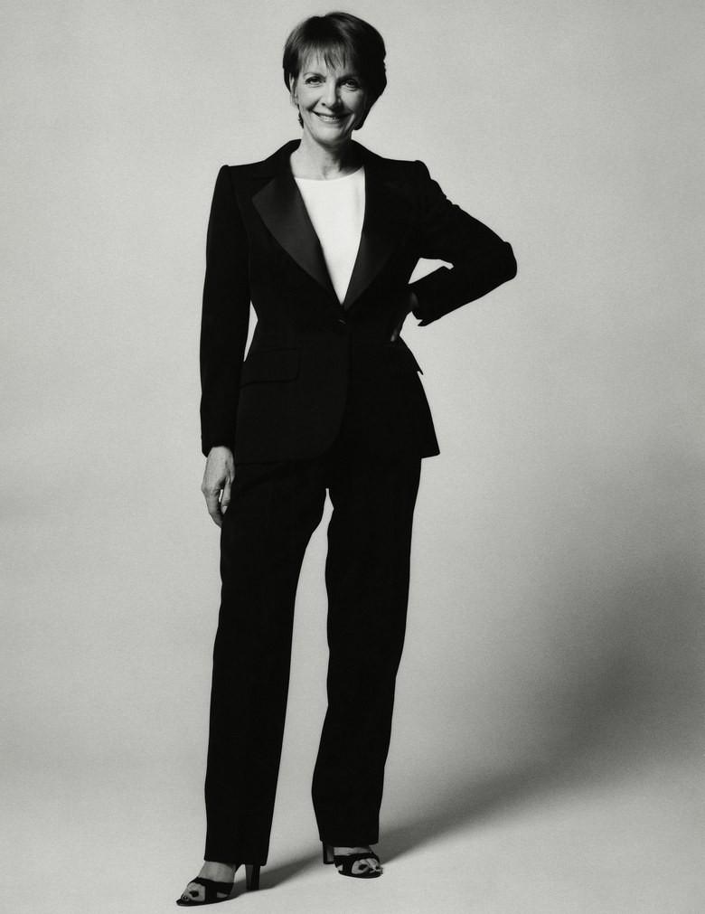 Anna Harvey, fotografada para a Vogue UK em outubro de 1997 (Foto: Robin Derrick)