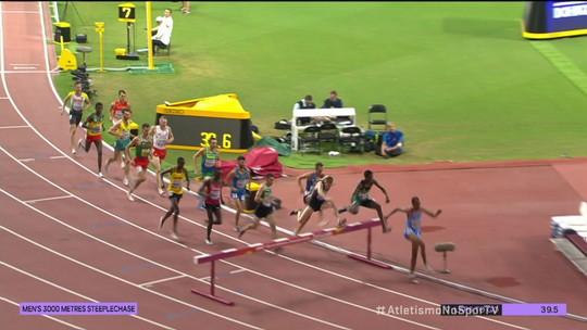 Altobeli da Silva fica em sexto nos 3000m com obstáculos