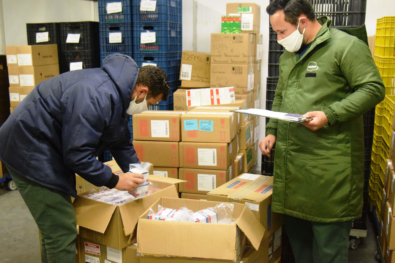 Paraná recebe 100 mil ampolas de medicamentos para intubação de pacientes com Covid-19