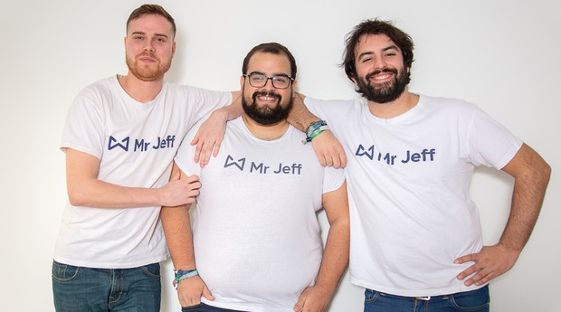 fundadores da Mr. Jeff (Foto: Divulgação)