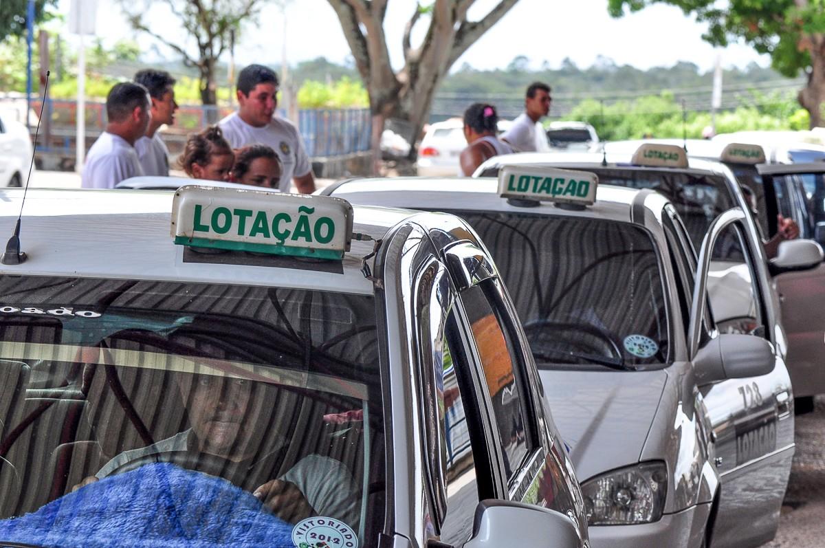Táxi-lotação funcionará em horário estendido por conta do vestibular da UFRR