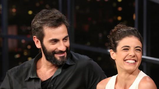 Natalia Gonsales conta que levou bolo de Flávio Tolezani no começo da relação: 'Ele é difícil, mas ótimo'