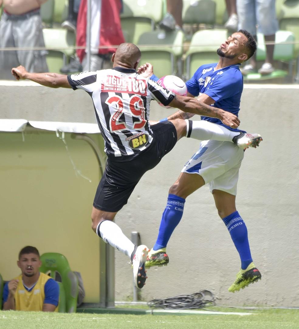 Patric; Rafinha; Atlético-MG; Cruzeiro (Foto: Washington Alves / Light Press)