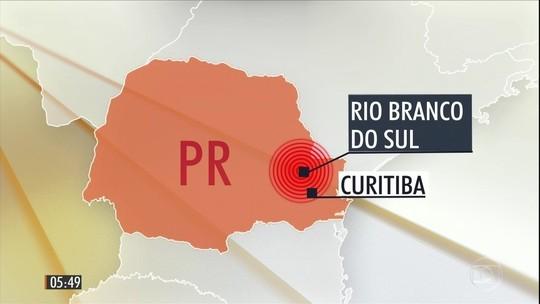Tremores de 4,5 e 5,1 graus de magnitude atingem o Paraná