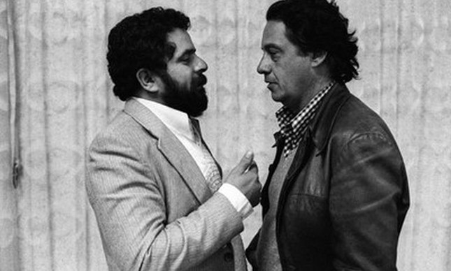 Lula e Fernando Henrique, São Paulo, 1980
