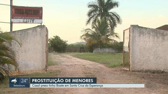PM prende 2 suspeitos de explorar menores em casa de prostituição em Santa Cruz da Esperança, SP