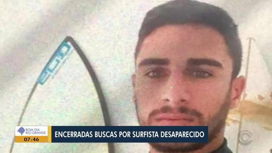 Buscas por surfista desaparecido em Imbé são encerradas