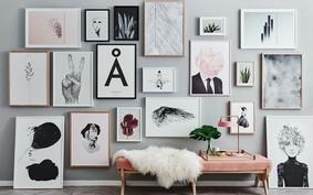 Quadros na sala: 22 ideias para inspirar a sua decoração