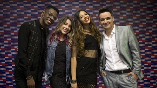 Léo Pain, Erica Natuza, Kevin Ndjana e Isa Guerra são os finalistas do 'The Voice Brasil'