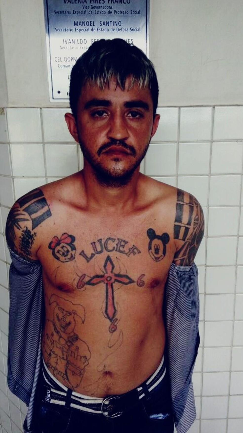 -  Suspeito de matar PM,   34;Lúcifer  34; morreu em troca de tiros com a polícia  Foto: Ascom/PC