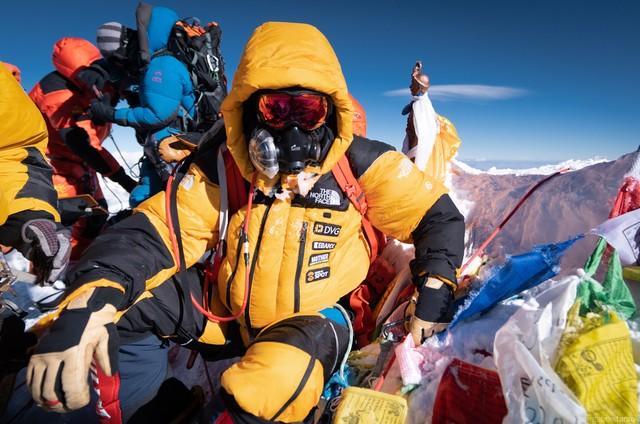 Gustavo Ziller no Everest (Foto: Divulgação)