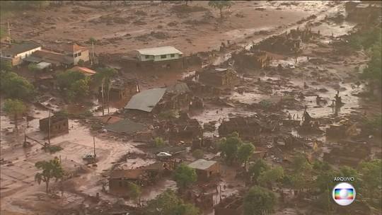 Indenização aos atingidos por barragem em Mariana começa a ser paga assim que cadastros forem concluídos, diz MP