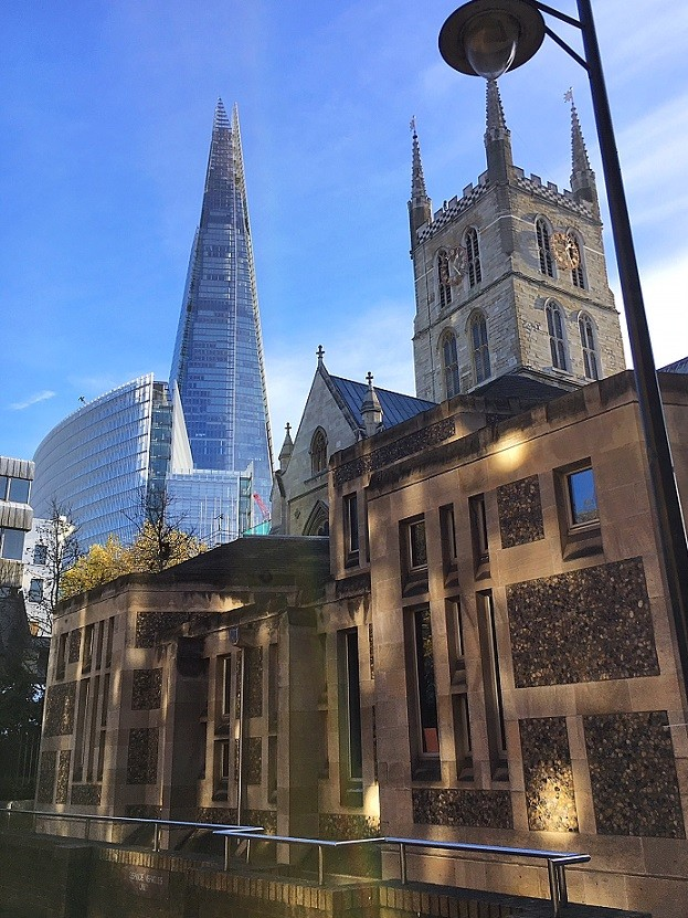 Southwark Cathedral (1839) - The Shard (2013)