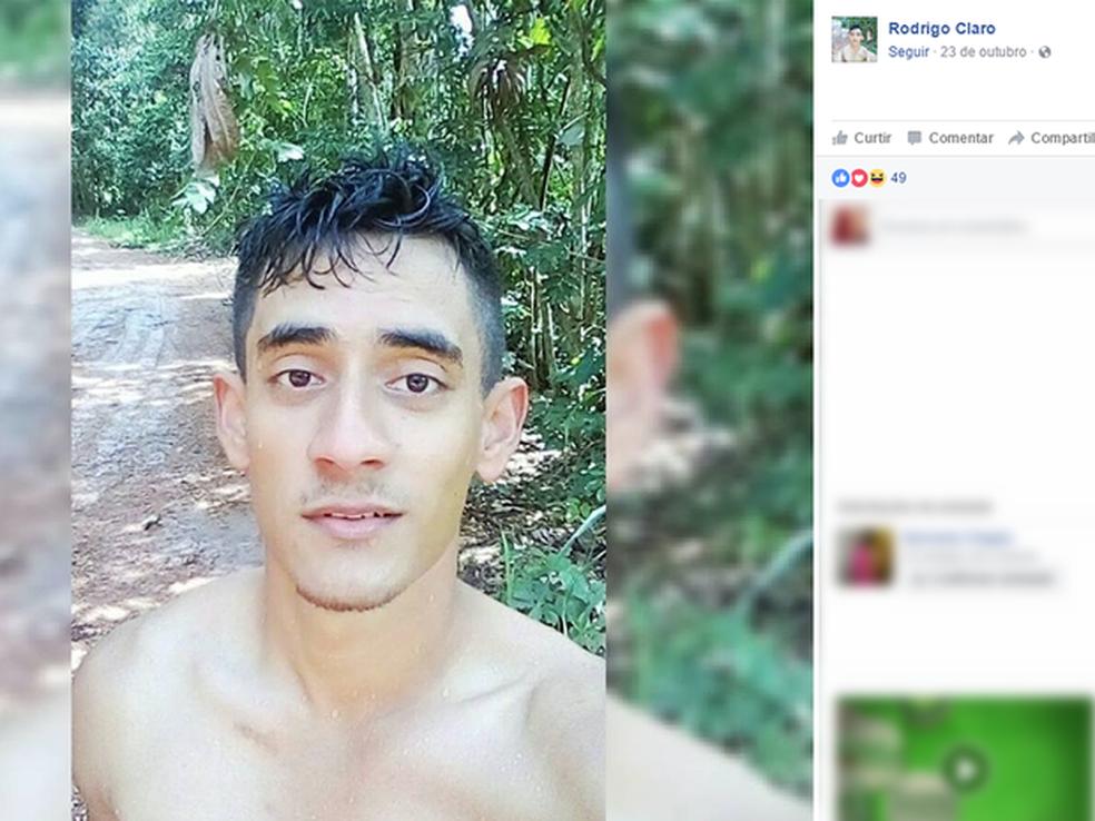 Rodrigo Claro morreu em novembro de 2016, após passar mal em um treinamento que era coordenado pela tenente Izadora Ledur (Foto: Facebook/Reprodução)