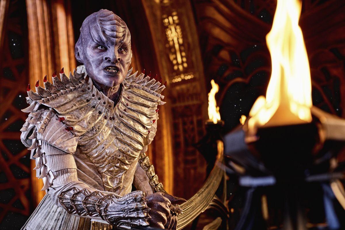 Em Star Trek: Discovery, há várias conversas no idioma entre os personagens que são klingons (Foto: Divulgação)