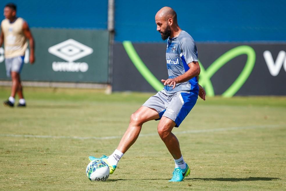 Bruno Rodrigo não deve renovar (Foto: Lucas Uebel/Grêmio)