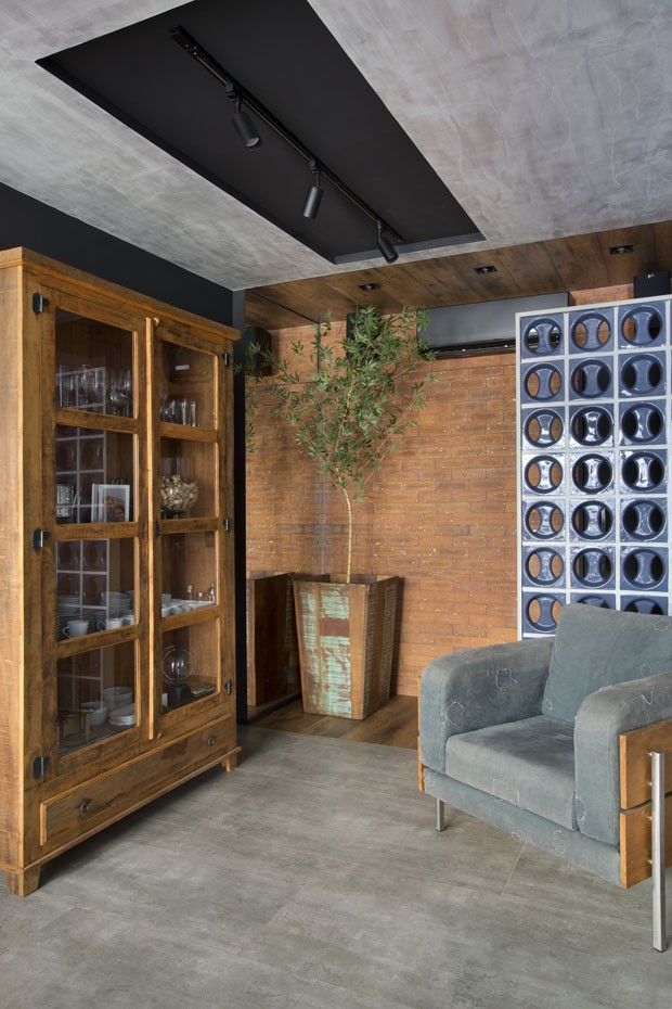 Apartamento de jovem solteiro tem estilo urbano e pet friendly (Foto: Fotos Denilson Machado/ MCA Estúdio)