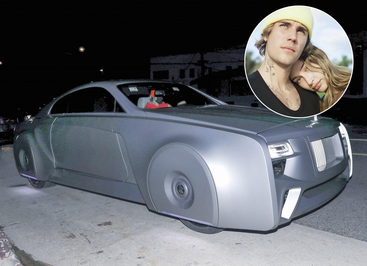 Justin Bieber E Clicado Com Hailey Em Carrao De Luxo Personalizado Quem Quem News