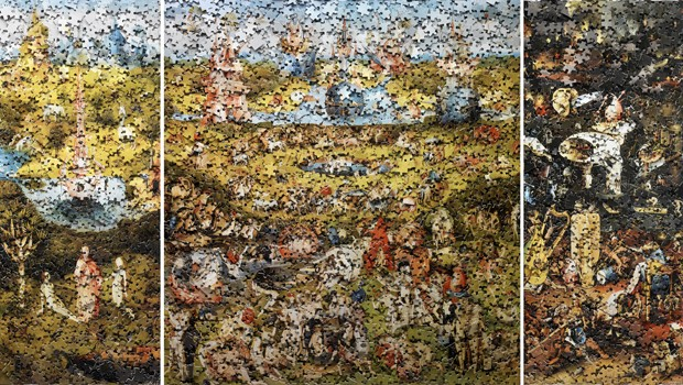 'The Garden of Earthly Delight', de Vik Muniz (Foto: Divulgação)