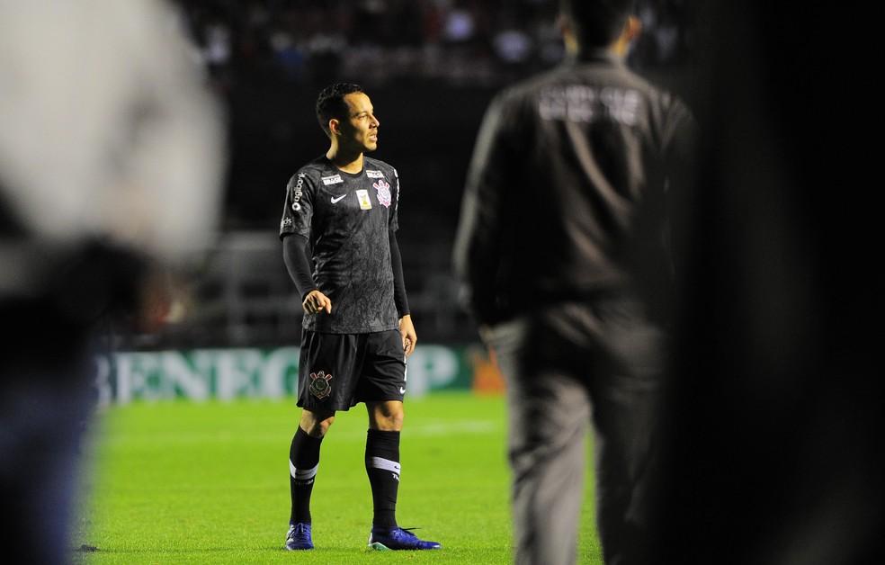O adeus de Rodriguinho: Timão perde seu artilheiro e garçom (Foto: Marcos Ribolli)