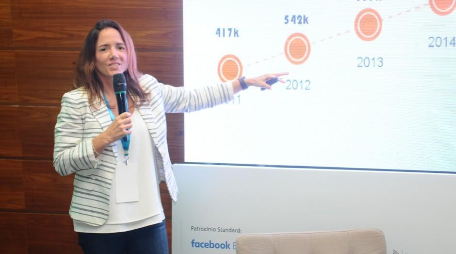Monica Saccarelli, sócio-fundadora da Rico e fundadora da fintech Diin (Foto: Rafael Jota)