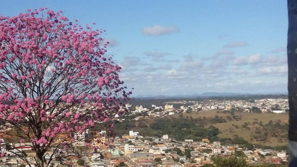 -  Céu em Divinópolis  Foto: Anna Lúcia/G1