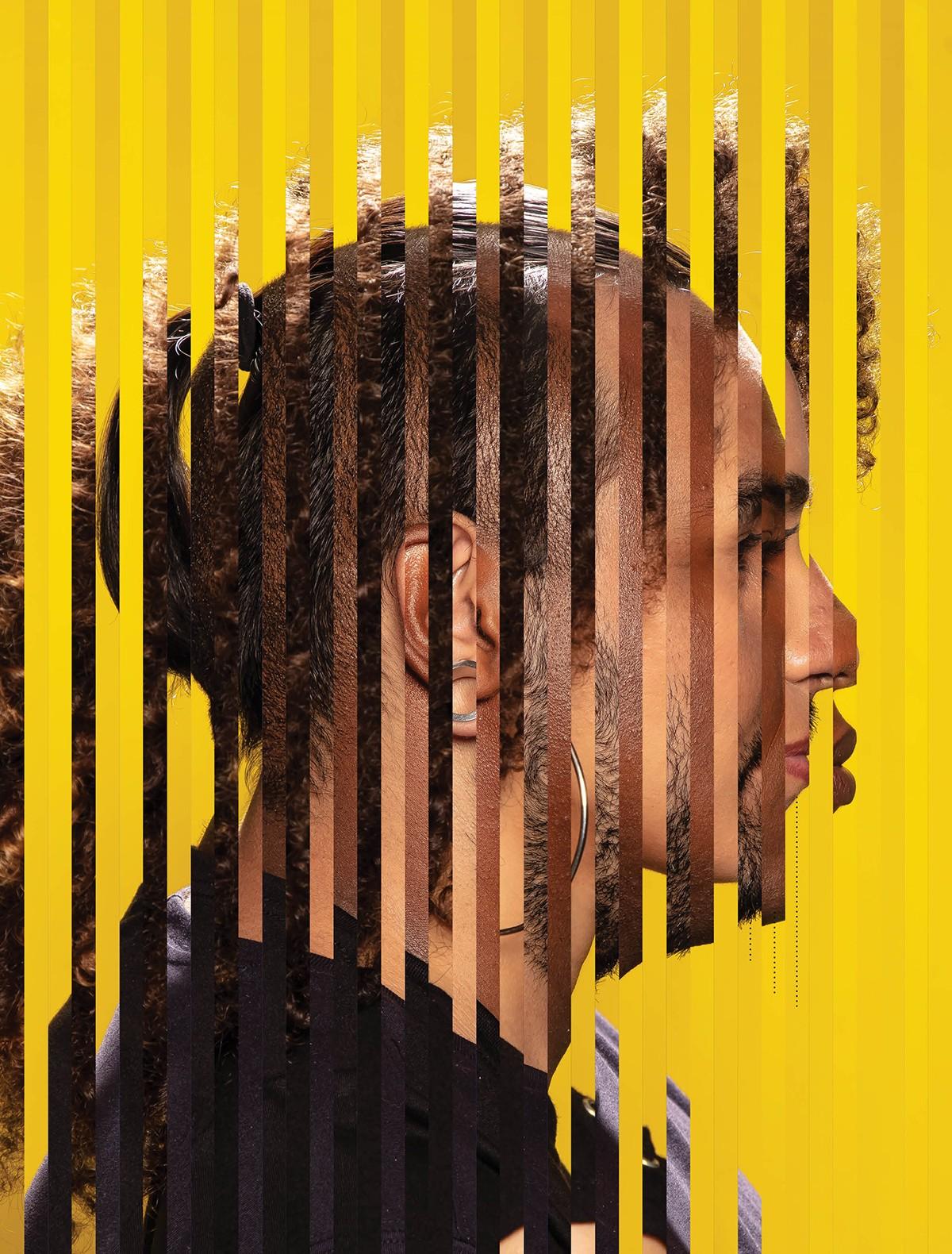 Montagem com retratos de Leonardo Bamonte, Rodrigo Alves e Silvia Vieira (Foto: Dulla / Direção de arte: Feu)