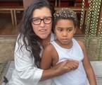 Regina Casé e o filho Roque    Reprodução/Instagram