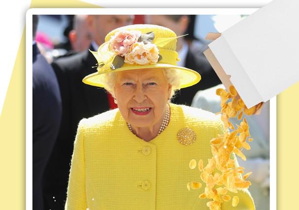 A rainha ama Sucrilhos com leite (Foto: Getty Images/Thinkstock)