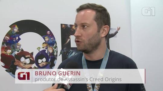 'Assassin's Creed Origins' quer levar mais liberdade e conhecimento para jogadores, diz produtor