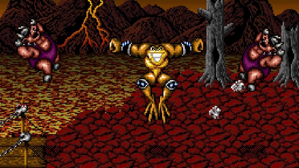 Battletoads in Battlemaniacs SNES-Baixar ROM