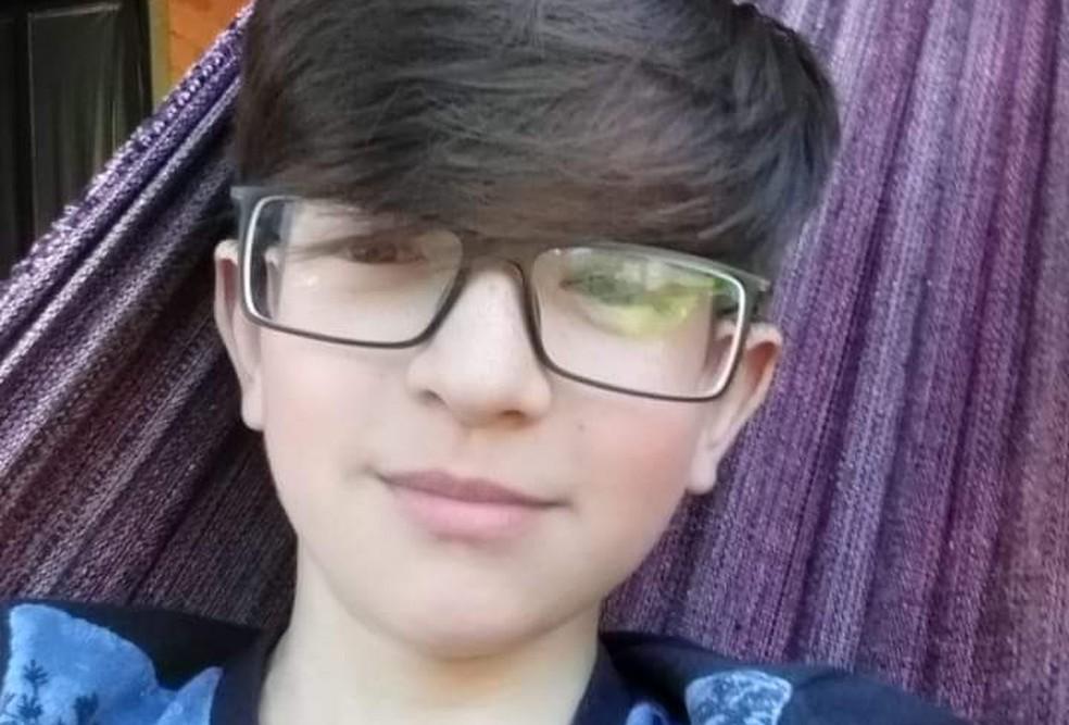Rafael Mateus Winques tinha 11 anos. — Foto: Polícia Civil/Divulgação