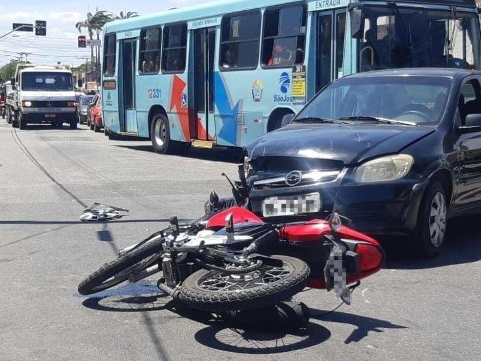 Reclusão domiciliar por Covid-19 gera redução de 61% em acidentes — Foto: Leabem Monteiro