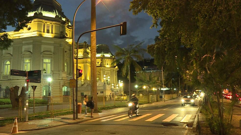 Reunião foi no Palácio Guanabara, em Laranjeiras (Foto: Reprodução/TV Globo)