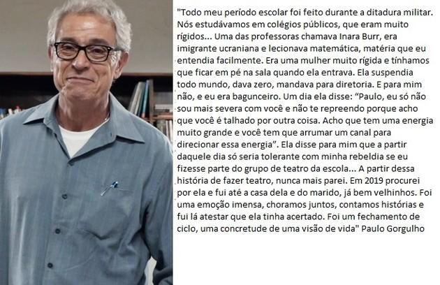 Paulo Gorgulho (Foto: TV Globo)