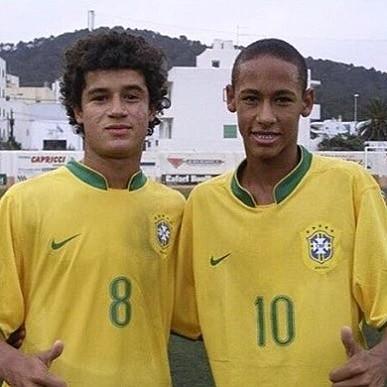 Phillippe Coutinho e Neymar (Foto: Reprodução/Instagram)