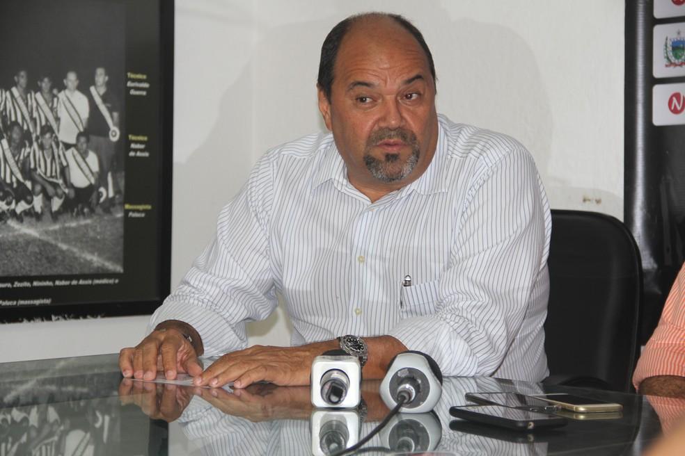 Breno Morais foi condenado à pena máxima desportiva — Foto: Cisco Nobre / GloboEsporte.com