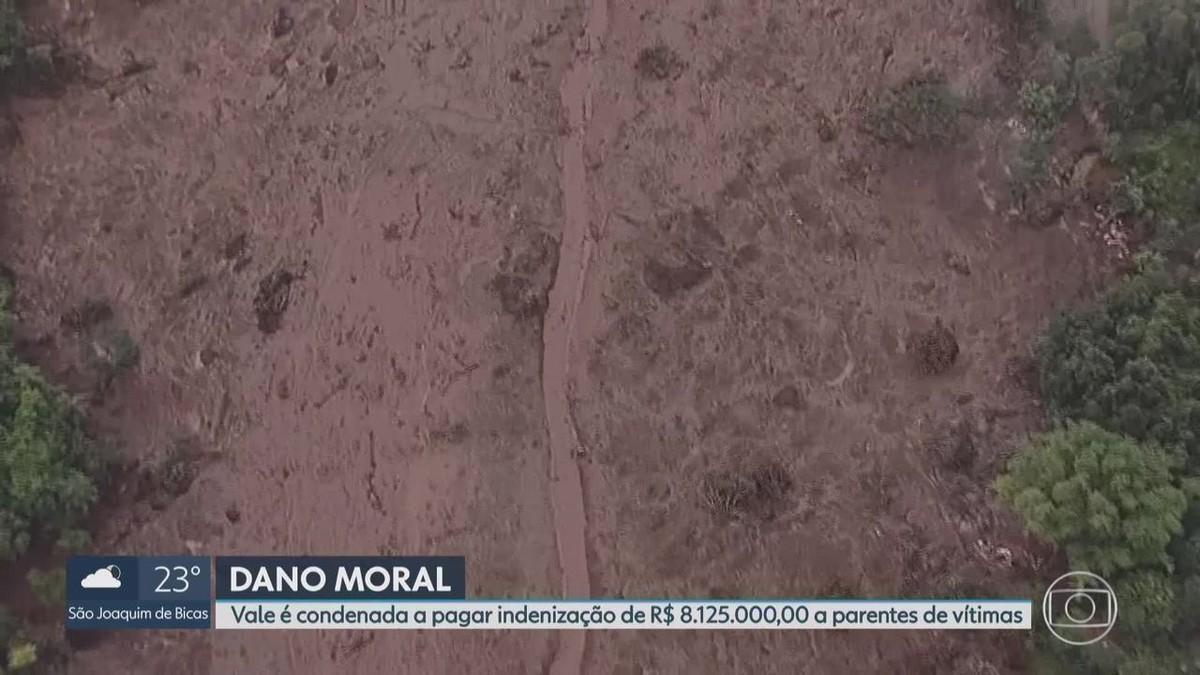Brumadinho: Vale é condenada a pagar R$ 8 milhões a parentes de família que morreu em pousada - G1