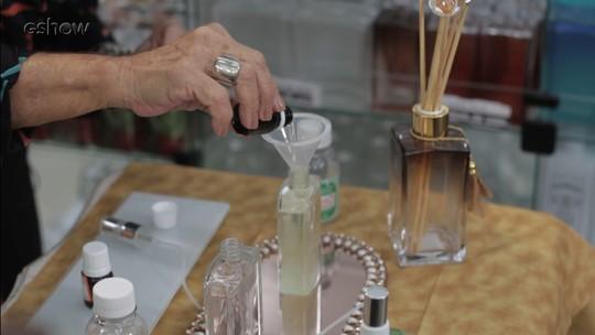 Aprenda como fazer um perfume