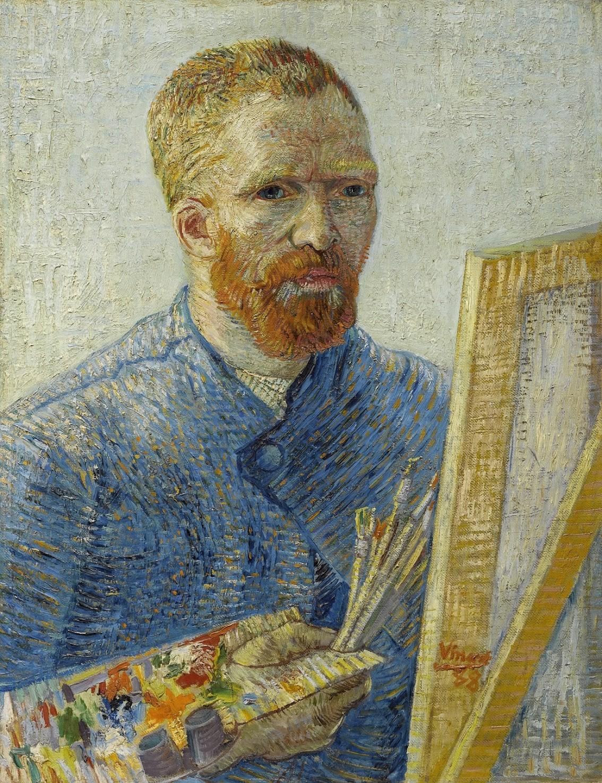 """Autorretrato"" de  Vincent van Gogh - 1888 (Foto: Van Gogh Museum)"