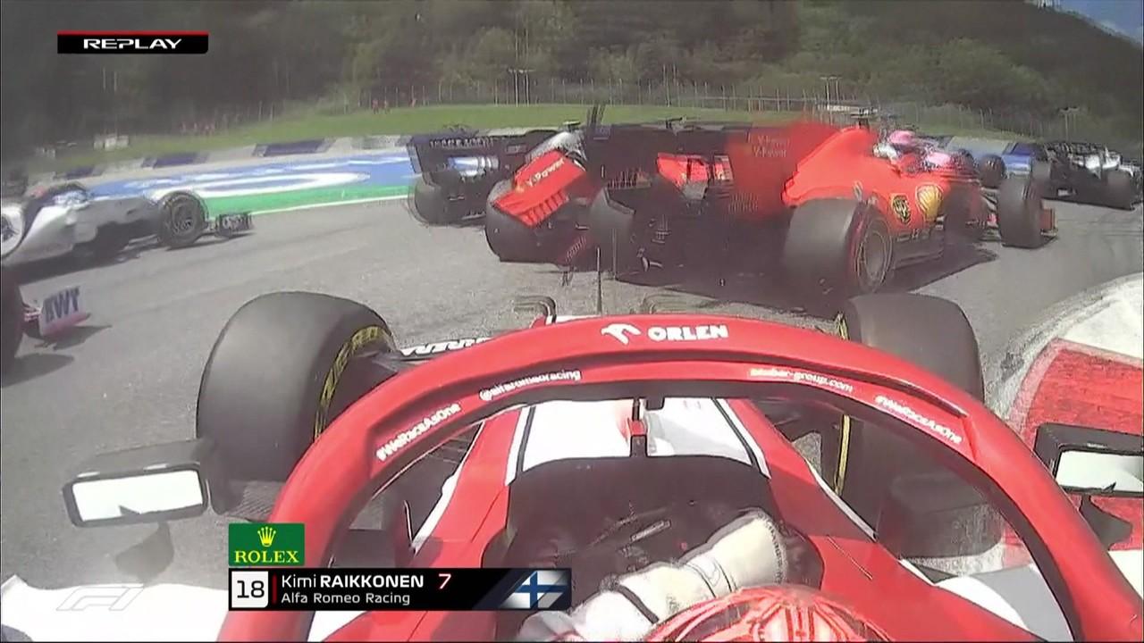 GP da Estíria: Vettel tem problema no carro já na largada