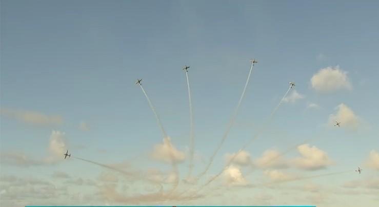 Esquadrilha da Fumaça faz show aéreo em Fortaleza, Umirim e Jeri neste fim de semana